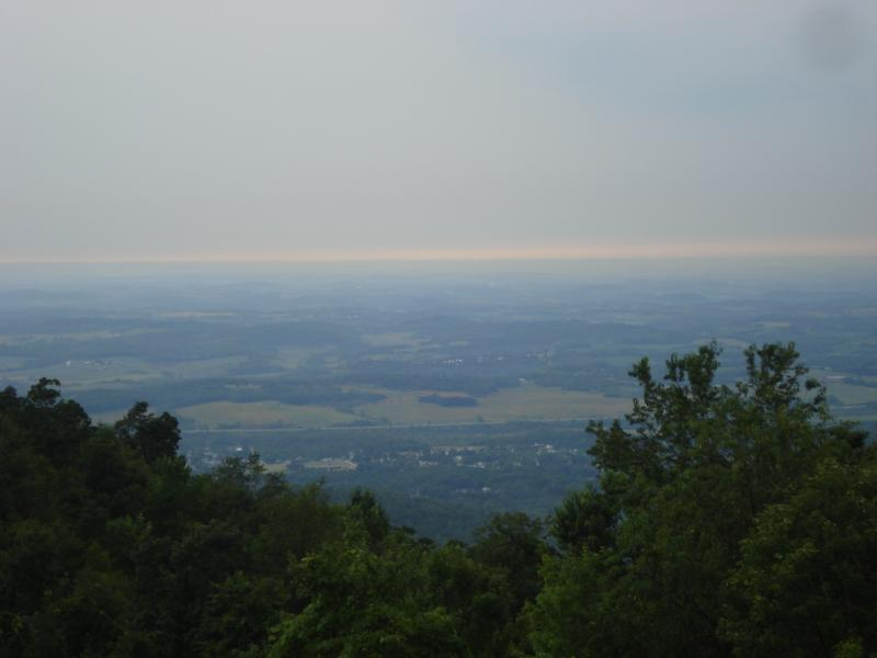 Laurel Caverns overlook near Farmington, PA